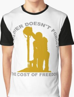 A Soldier Doesn't Forget Graphic T-Shirt