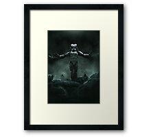 The Yautjatrooper Framed Print
