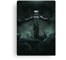 The Yautjatrooper Canvas Print