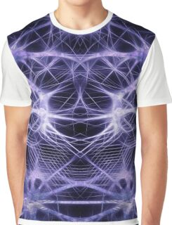 Abstract Hi Tech Forms Graphic T-Shirt