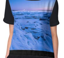 Frozen lake Chiffon Top
