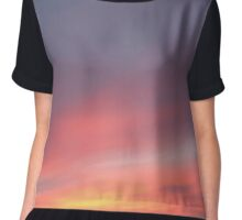 Sky in sunset Chiffon Top