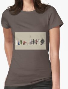 Lord of The Rİngs - Fellowship Womens Fitted T-Shirt