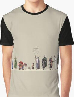 Lord of The Rİngs - Fellowship Graphic T-Shirt