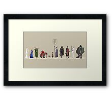 Lord of The Rİngs - Fellowship Framed Print