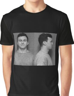Manziel Mugshot Graphic T-Shirt