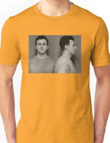 Manziel Mugshot Unisex T-Shirt
