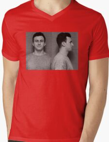 Manziel Mugshot Mens V-Neck T-Shirt