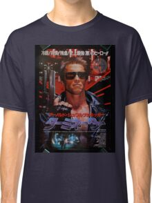 Vintage Japanese terminator movie poster Classic T-Shirt
