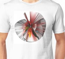 Consciousness of the Inanimate painting as a Spherical Depth Map. 3 Unisex T-Shirt