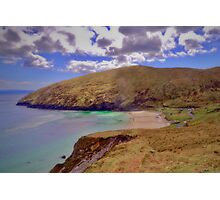 Magical Keem Beach Crowned by clouds from Heaven Photographic Print