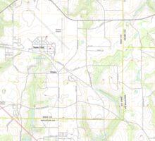 USGS TOPO Map Alabama AL Midland City 20110912 TM Sticker