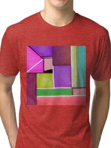 Color blocks Tri-blend T-Shirt