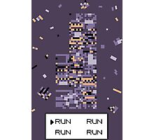 A Wild Missingno. appeared! Photographic Print