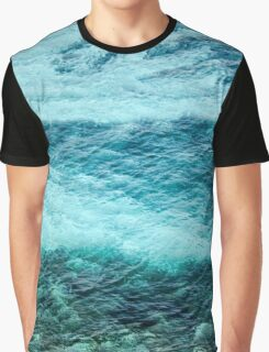 Just Blue  Graphic T-Shirt