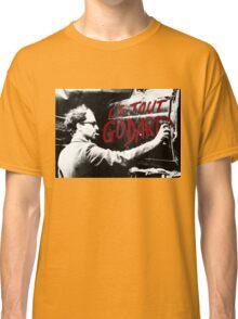 "Jean-Luc Godard - ""Le Tout Godard"" graffiti Classic T-Shirt"