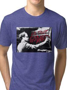 """Jean-Luc Godard - """"Le Tout Godard"""" graffiti Tri-blend T-Shirt"""