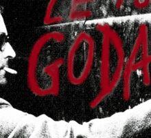 "Jean-Luc Godard - ""Le Tout Godard"" graffiti Sticker"