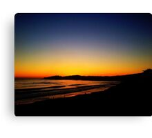 Sunset at Carmel Canvas Print