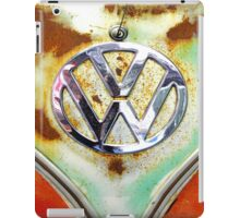 VW Volkswagen Badge iPad Case/Skin