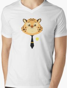 Stylized-ghepard-Clawhauser Mens V-Neck T-Shirt