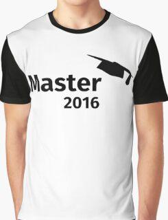 Master 2016 Graphic T-Shirt