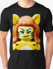 Lego Tiger Woman minifigure Unisex T-Shirt