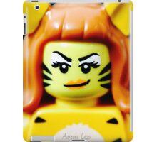 Lego Tiger Woman minifigure iPad Case/Skin