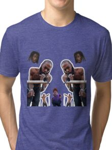 mc ride ft young thug and snotty boy Tri-blend T-Shirt