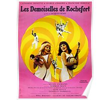 Les Demoiselles de Rochefort - French New Wave film starring Catherine Deneuve Poster
