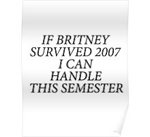 Britney Quote Poster