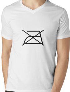 Icon Design No Iron Mens V-Neck T-Shirt