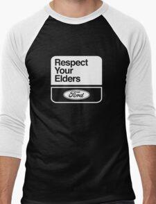 FORD RESPECT YOUR ELDERS  Men's Baseball ¾ T-Shirt