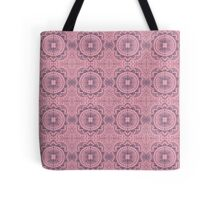 Coloured Mandala Tile Pattern Tote Bag