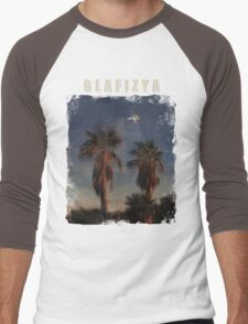 Glafizya Palms Men's Baseball ¾ T-Shirt