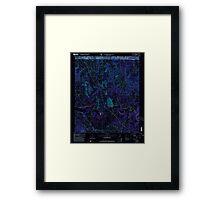 USGS TOPO Map Alabama AL Manchester 304474 2000 24000 Inverted Framed Print