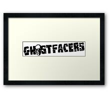 Ghostfacers Framed Print