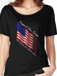 Support our troops Women's Relaxed Fit T-Shirt