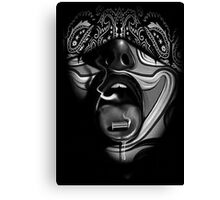 Bullet To The Face Canvas Print