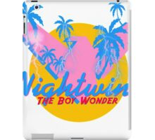 NightWing The Boy Wonder 80s Logo iPad Case/Skin