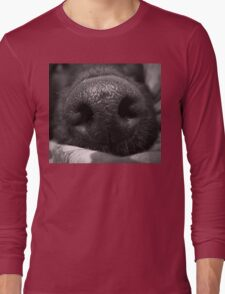 Love Is In The Wet Nose Of A Dog. Long Sleeve T-Shirt