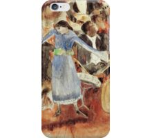 The Jazz Singer -Charles Demuth. Music iPhone Case/Skin