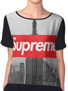 Supreme New York  Chiffon Top