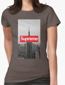 Supreme New York  Womens Fitted T-Shirt