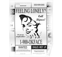 30 Rock (1-900-OKFACE) Poster