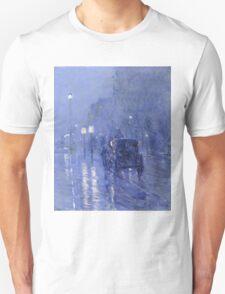 Rainy Midnight -  Childe Hassam Unisex T-Shirt