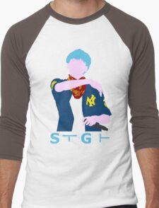 BTS - Bangtan Boys - Suga - Fanart Men's Baseball ¾ T-Shirt