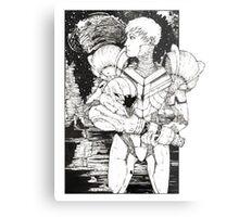 Samus Aran Metal Print