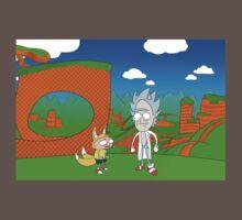 Rick the Hedgehog One Piece - Short Sleeve