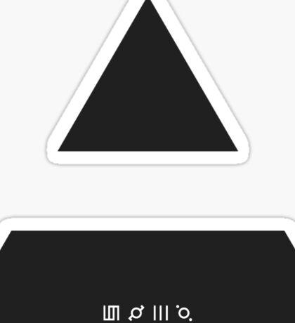 MARS TRIAD Sticker